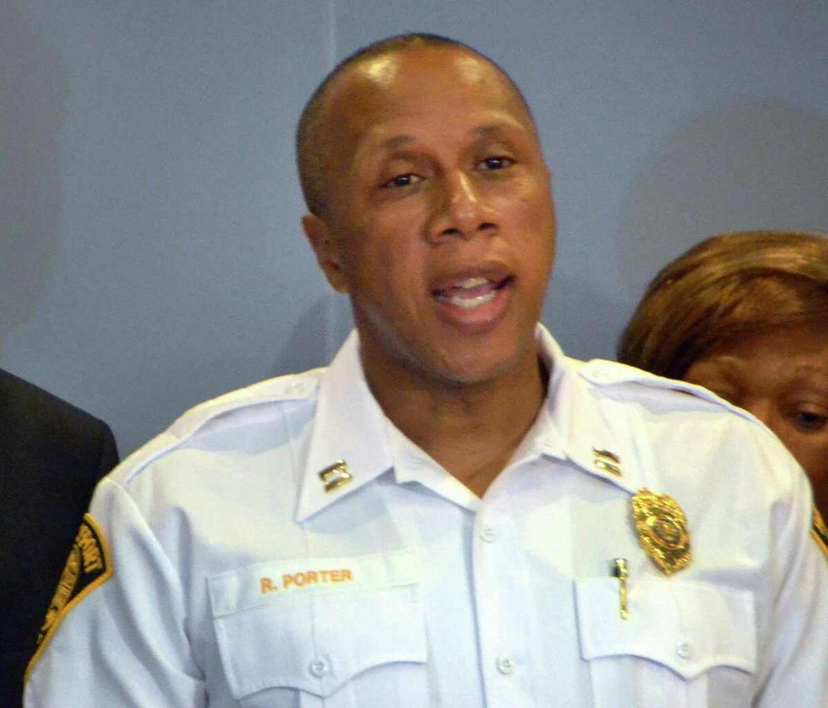 Bridgeport Police Captain Roderick Porter.