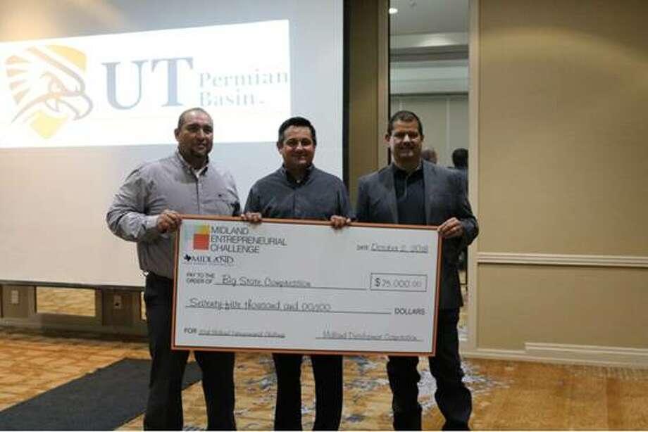 Big State Compression, owners Dimas Chavez, Heber Martinez, and Juan Garcia -- $75,000  Photo: Courtesy Photo