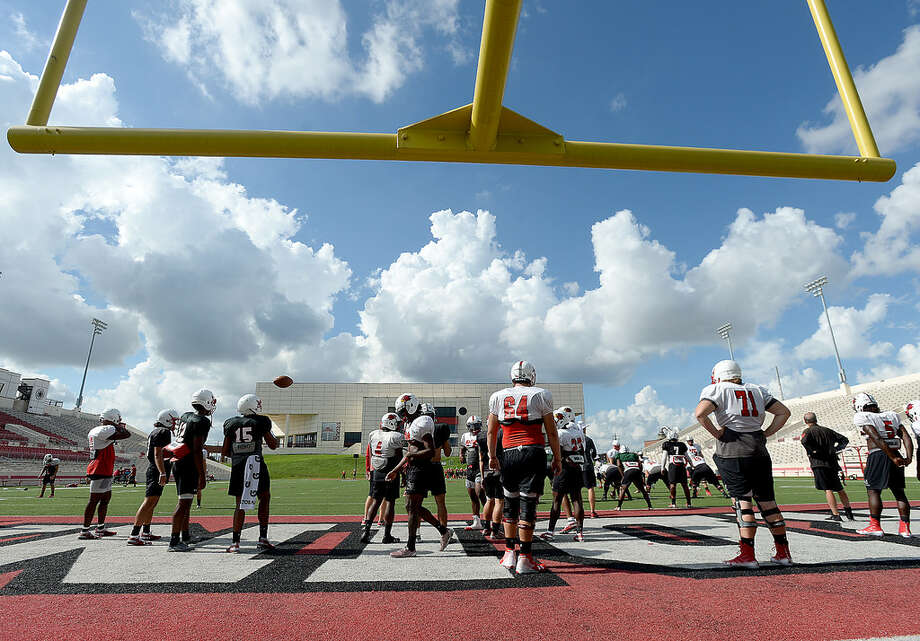 Lamar gets in practice Tuesday, looking at two weeks of preparation with a bye week before facing Incarnate Word at home October 13.