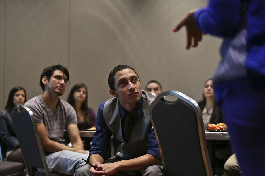 In 2013, local college students attend SACNAS Community College Day.The organization is holding its conference again this week in San Antonio. Photo: Lisa Krantz /Staff File Photo / San Antonio Express-News
