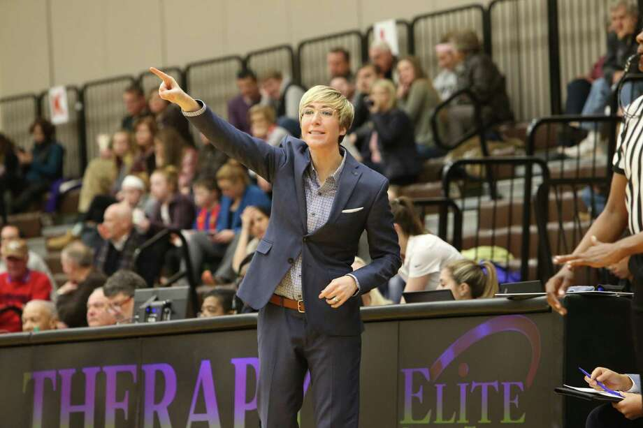 Yale women's basketball coach Allison Guth has signed a contract extension that will take her through the 2023-24 season. Photo: Yale Athletics