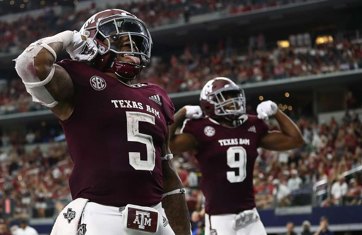 >>>The Associated Press Top 25: 25. Texas A&M SEC 5-3