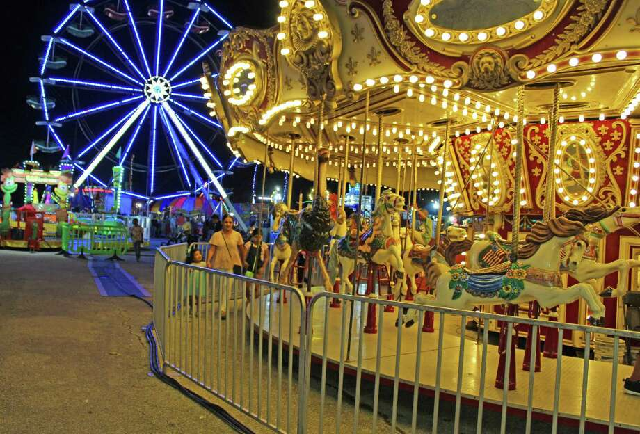 The carnival was busy throughout the week at the Fort Bend County Fairgrounds in Richmond. Photo: Kristi Nix / Staff Photo