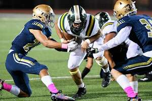Nixon running back Joseph Ibarra and the Mustangs host Alexander at 7 p.m. Friday in a District 29-6A matchup.
