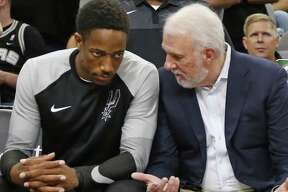 DeMar DeRozan's solid play so far this season has managed to make believers out of coach Gregg Popovich and the Spurs faithful.