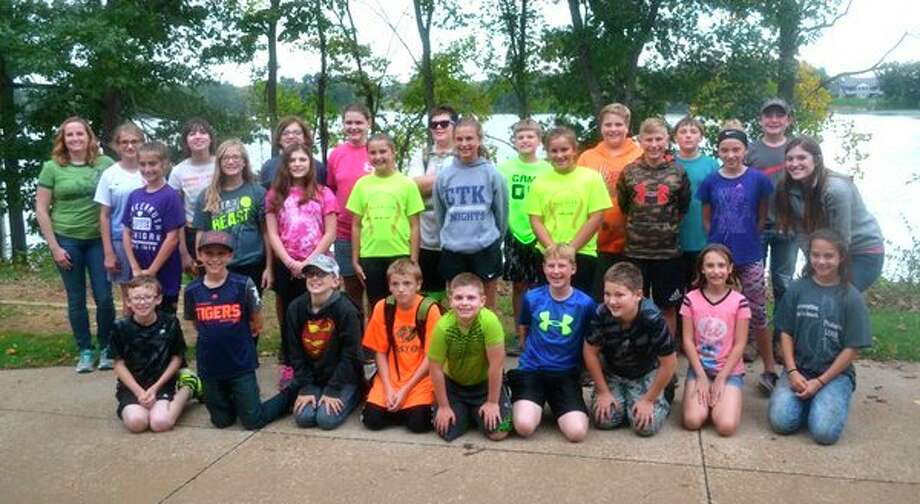 Christ the King School (CTK) recently took a class trip to the Howell Nature Center. Those who attended the trip were (front row): Dalton Anderson, Blair McIntosh, Jefferson Schuette, Will Welch, Ethan Bohn, Channing Kuhl, Gavin Hoy, Courtney Zuzga and Alberta Reinbold; (Second row): Chloe Smith, Jenna Gremel, Brittney Sting, Ella Neumann, Grace Herman, Lily Mammel, Taylor Alderson, Rachel Sattelberg and Mary Eggert; (Third row): Yvette Brink, Kayla Eremia, Veronica Brink, Hanna Welch, Claire VanTol, Ben Abke, Parker Ritchey, Zac Hahn, Noah Shelson and Gabriel Payne. (Submitted Photo)