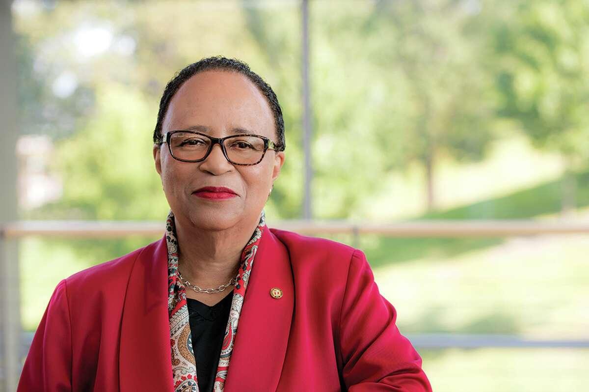 RPI President Shirley Jackson.
