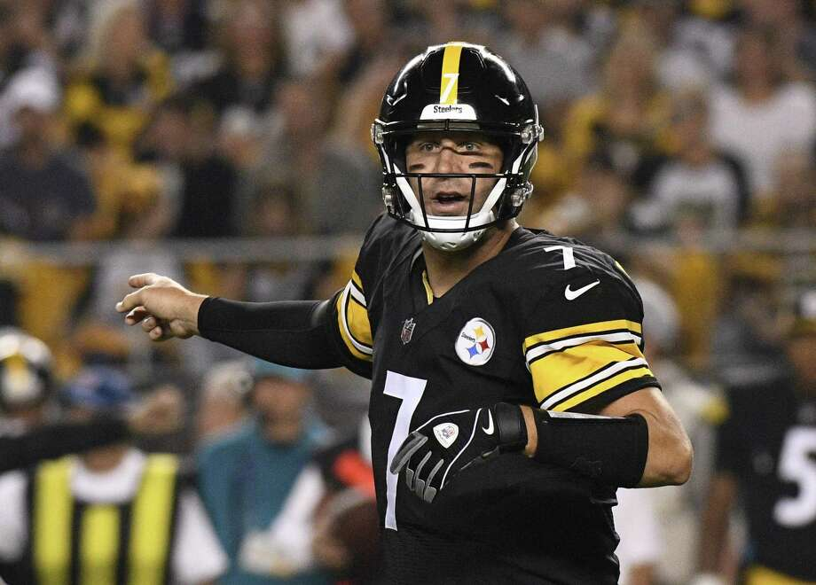 Quarterback Ben Roethlisberger and the Steelers host the Falcons on Sunday. Photo: Don Wright / Associated Press / Copyright 2018 The Associated Press. All rights reserved