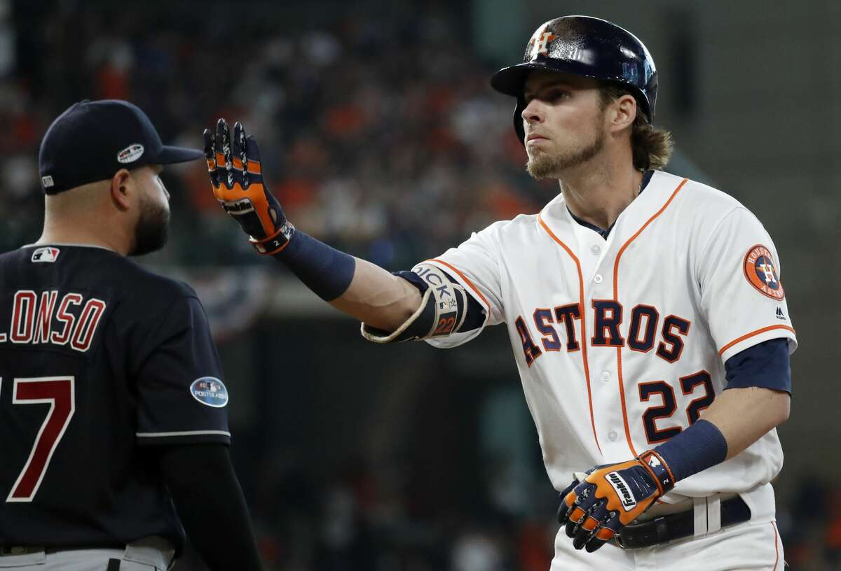 Josh Reddick saw his numbers take a dip during his second season with the Astros.