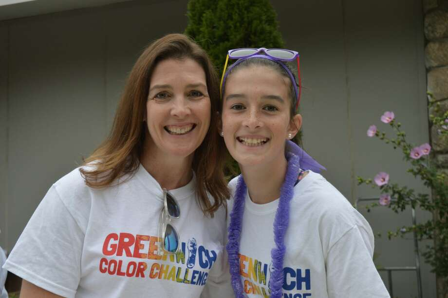 International School at Dundee in Greenwich held a Color Challenge on October 6, 2018. The family run included a 1.5 run and obstacle course with color stations. Were you SEEN? Photo: Todd Tracy / Hearst Media