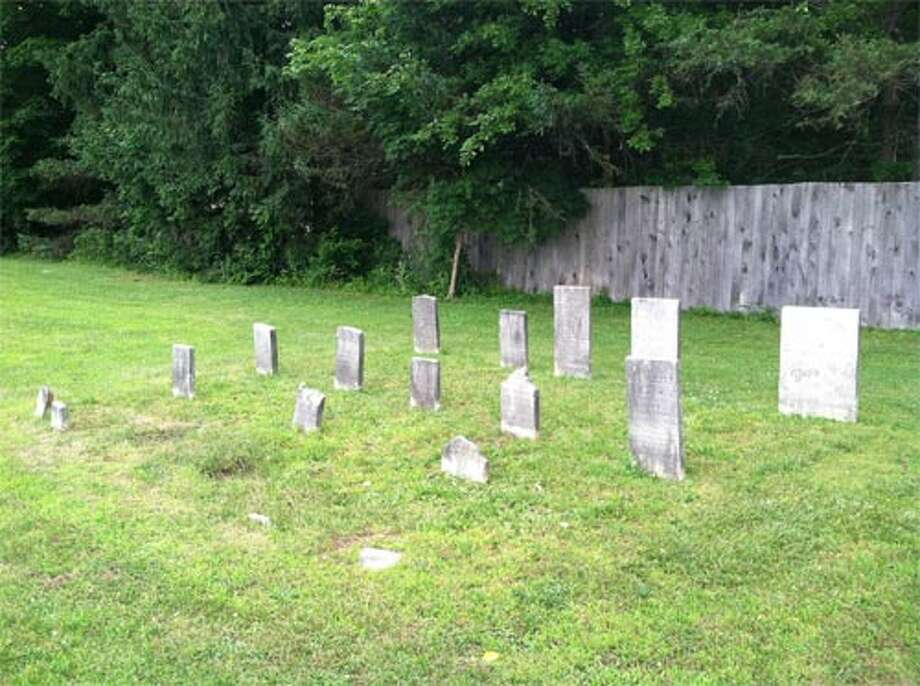 There are about a dozen legible headstones in Kinderhook's Persons of Color Cemetery, which is on the National Register of Historic Places. (Photo courtesy of the National Park Service)