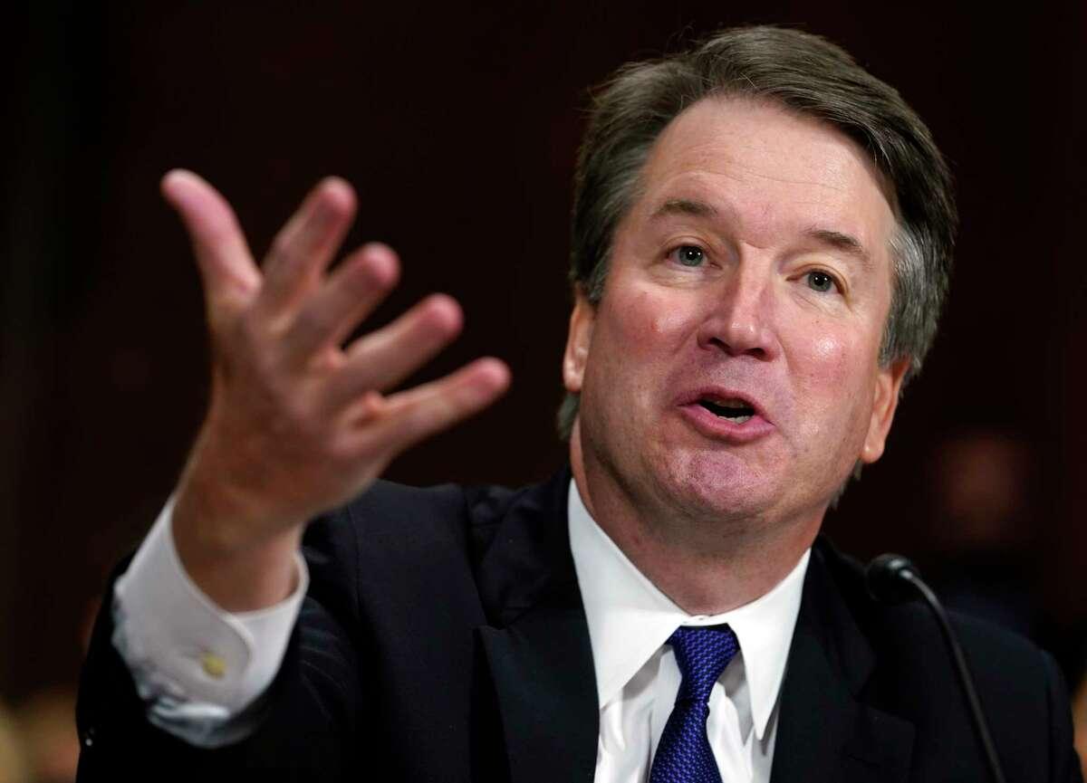 Supreme Court nominee Brett Kavanaugh testifies before the Senate Judiciary Committee on Capitol Hill in Washington, Thursday, Sept. 27, 2018. (AP Photo/Andrew Harnik, Pool)