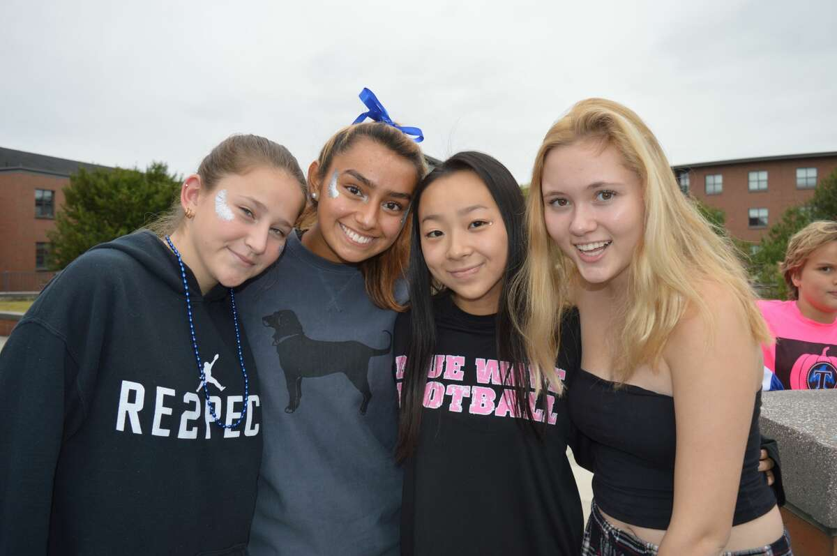 Darien and Staples High School faced off in the football field on October 6, 2018. Were you SEEN in the stands?