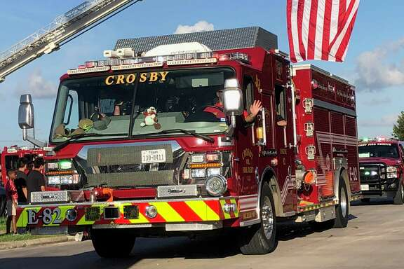 The 2018 Crosby ISD Homecoming Parade passed by Cougar Stadium before the Homecoming football game on October 5