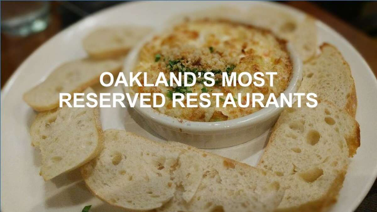 Want to know which Oakland restaurants are the hardest to get a reservation at? Click through to see which are the most reserved Oakland restaurants. >>>