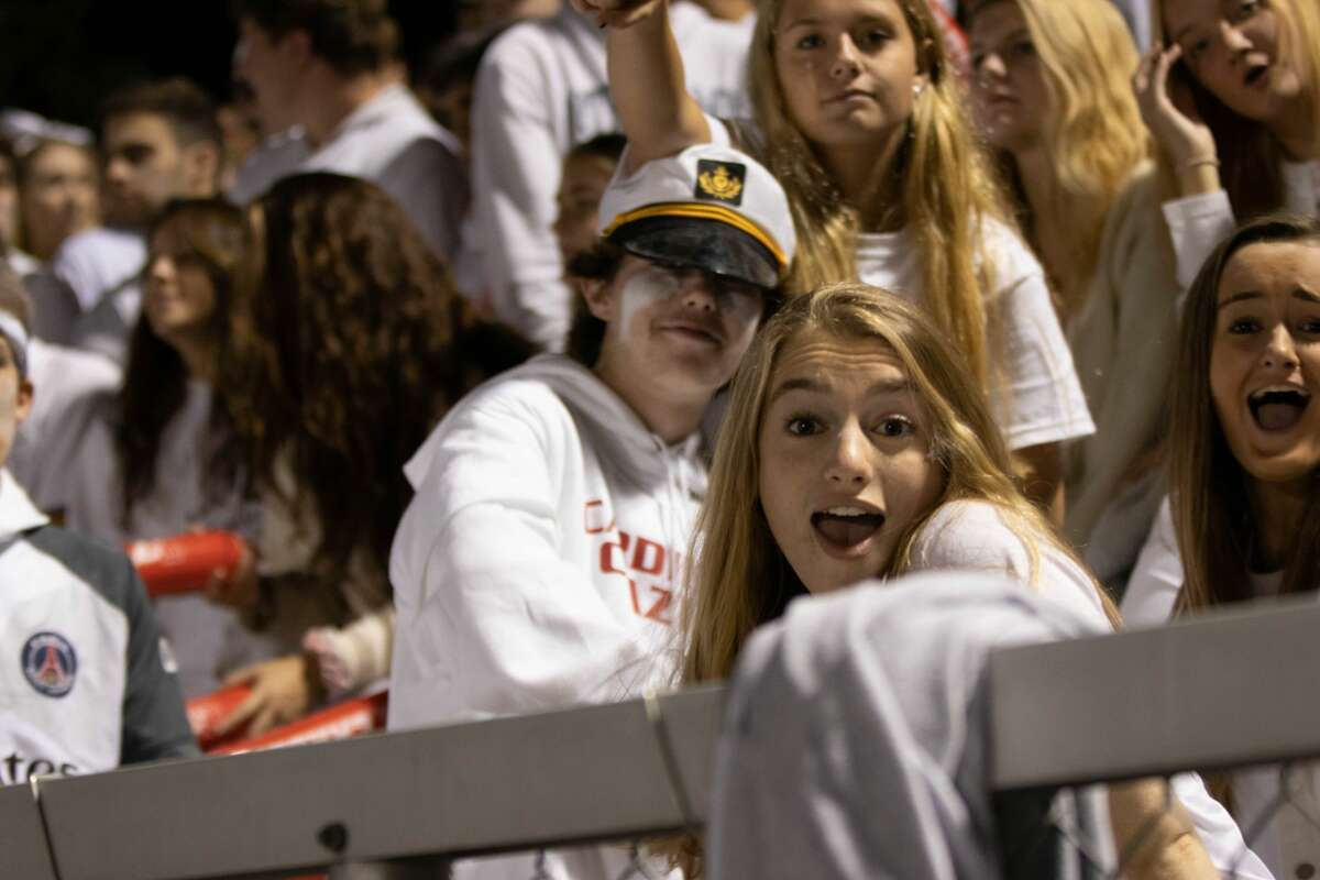 Greenwich and New Canaan High Schools faced off on the football field October 6, 2018. Were you SEEN in the stands?