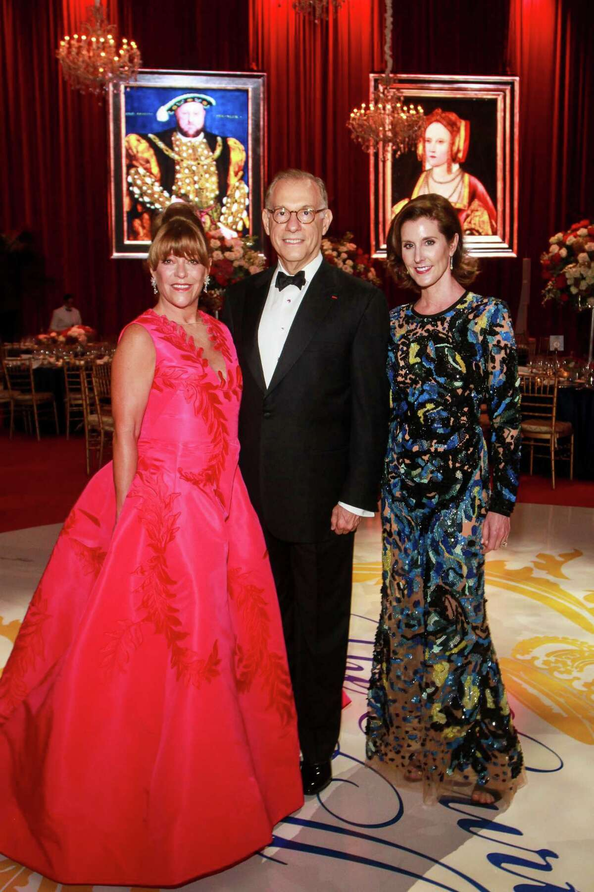 Chair Franci Neely, from left, Gary Tinterow and Phoebe Tudor at the Museum of Fine Arts Houston annual Grand Gala Ball.