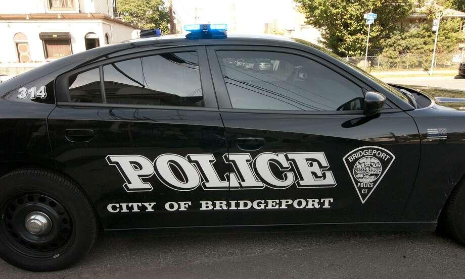 File photo of a Bridgeport police car Photo: Christian Abraham / Hearst Connecticut Media / Connecticut Post
