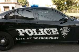 File photo of a Bridgeport police car