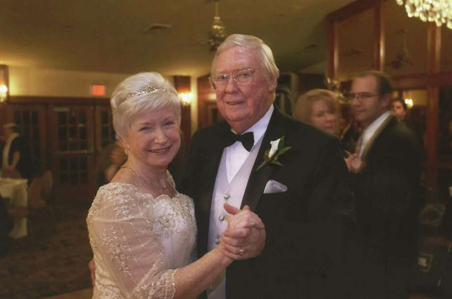 Herb and Jackie Keech at their wedding. (Jackie Keech) Photo: Jackie Keech, HO / TNS / Hartford Courant