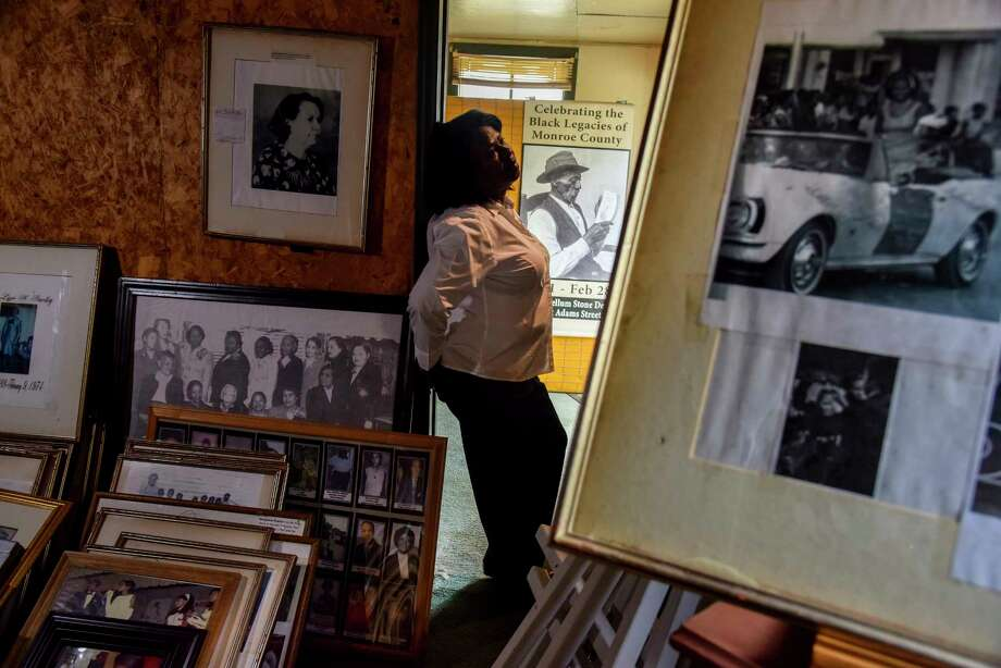 Rosemary Walker keeps a vast collection of photos and newspaper clippings of local black people who