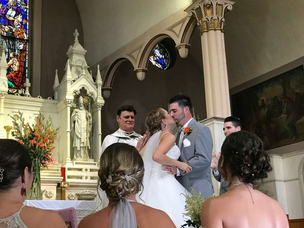 Erin and Shane McGowan celebrated their wedding in June 2018. They were both killed in a birthday party limousine crash that killed 20 in Schoharie on Oct. 6, 2018. (Photo courtesy of Anthony Vertucci)