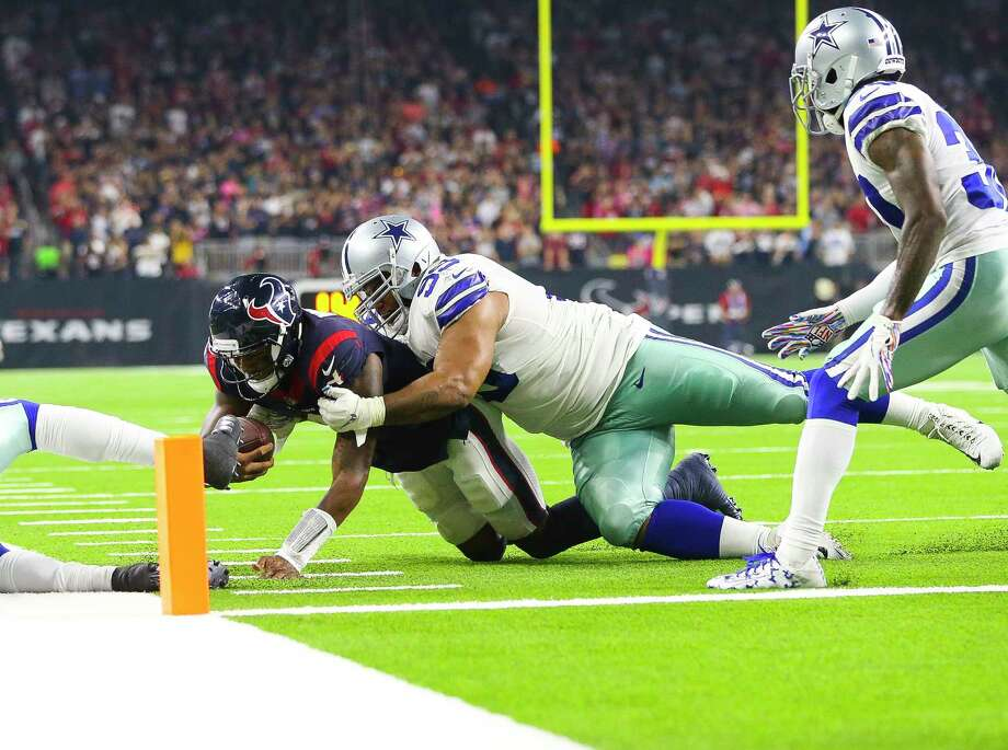 The end zone proved to be elusive territory for the Texans on Sunday against the Cowboys. Photo: Elizabeth Conley, Staff Photographer / © 2018 Houston Chronicle
