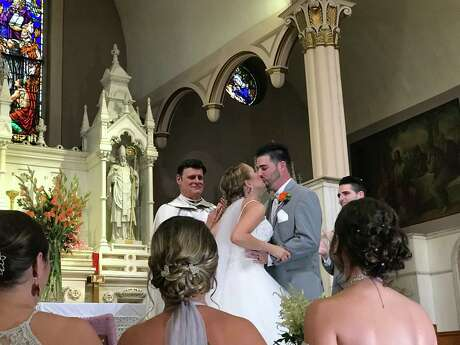 Erin McGowan and Shane McGowan celebrated their wedding in June 2018. They were both killed in a birthday party limousine crash that killed 20 in Schoharie on Oct. 6, 2018. Photo: Courtesy Of Anthony Vertucci