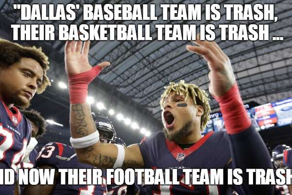 Memes rip Cowboys, celebrate Texans after overtime win