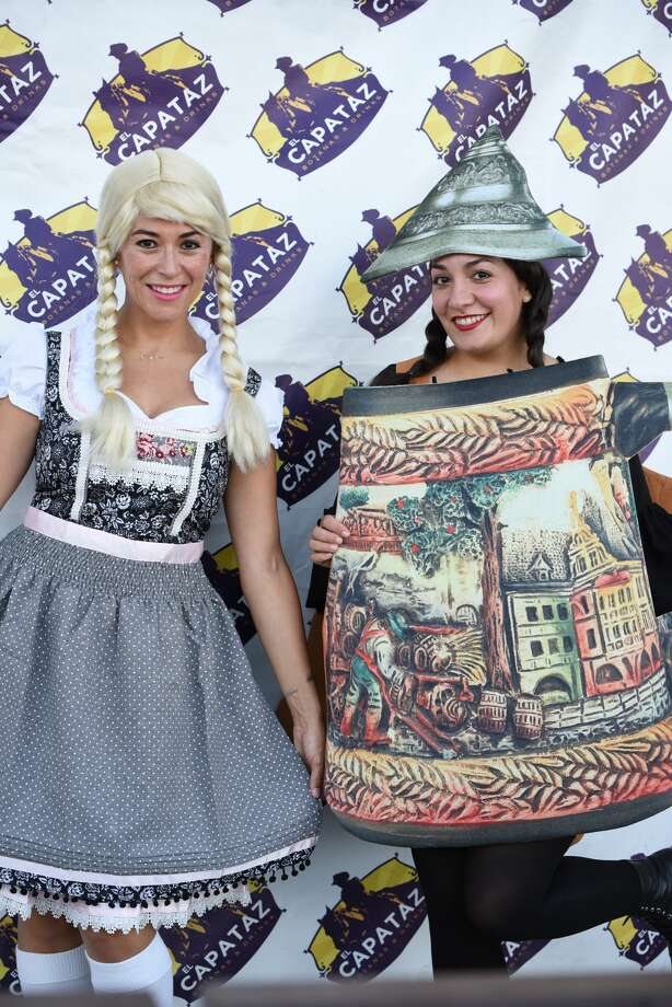 El Capataz hosts its second Oktoberfest event and includes food, beer, a weenie dog contest and a stein holding endurance contest, Saturday, October 6, 2018. Photo: Christian Alejandro Ocampo