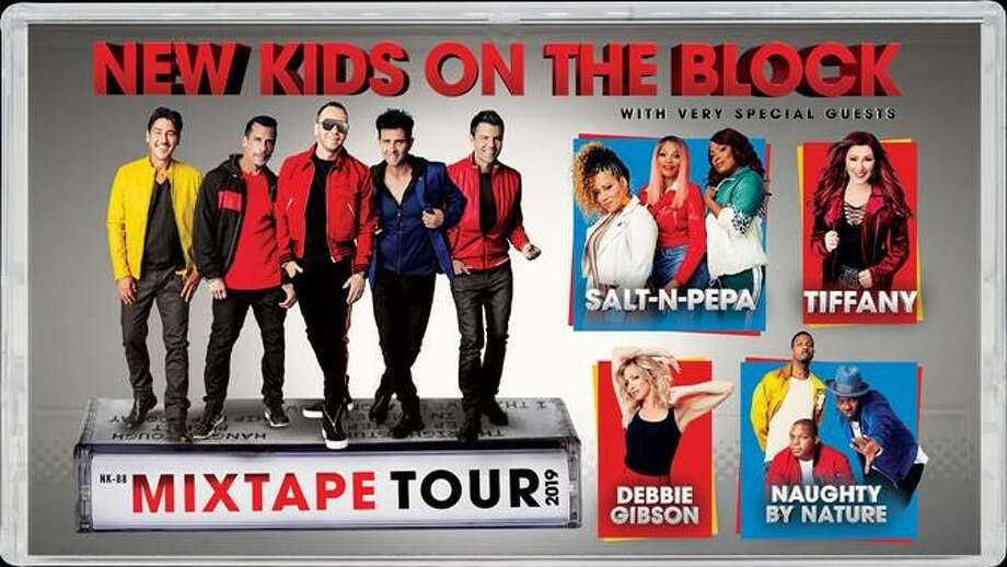 New Kids On The Block is coming to San Antonio and bringing a squad of 80s favorites with them. The Mixtape Tour will stop at the AT&T Center on May 16 with special guests Salt-N-Pepa, Debbie Gibson, Tiffany and Naughty by Nature. Photo: Courtesy, Live Nation