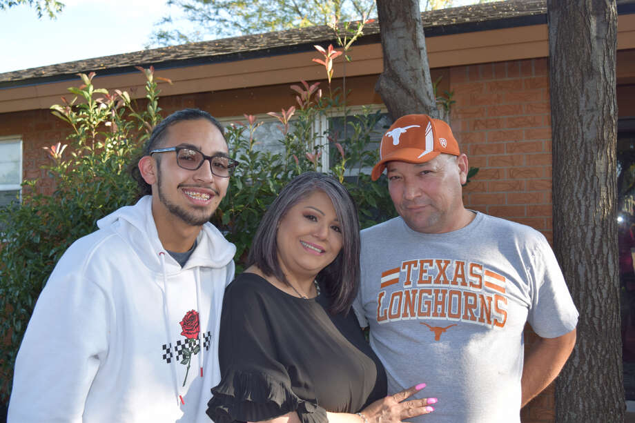 From left: Austin, Julie and Gilbert Rincon Photo: Ellysa Harris/Plainview Herald