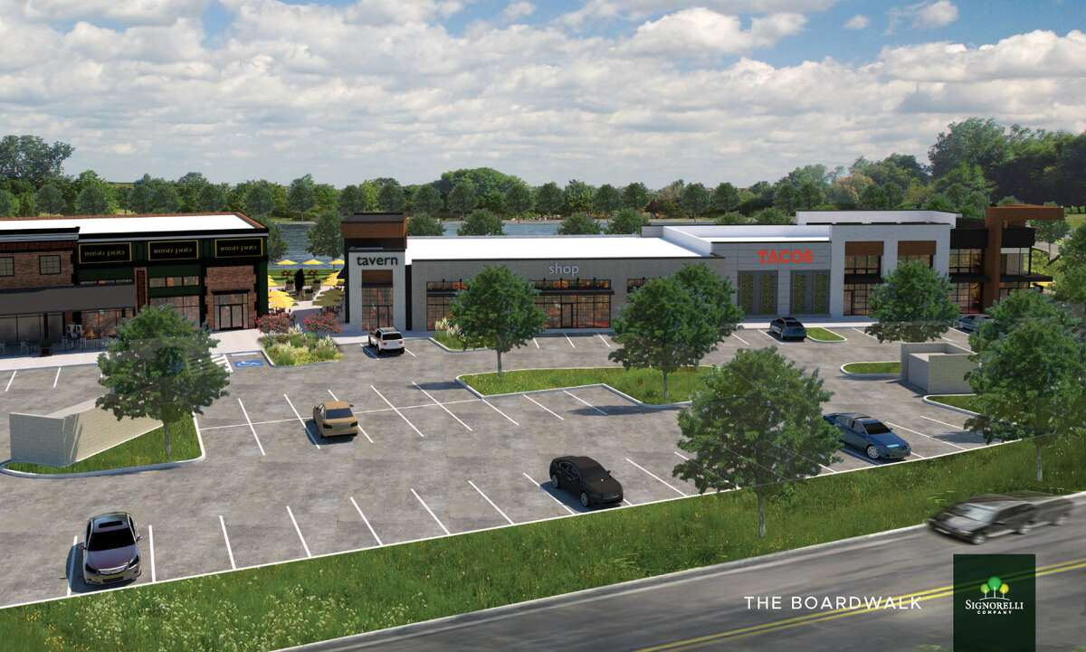 Many of the stores and restaurants in the Valley Ranch Town Center are already completed or under construction. Developer Signoreli Co. is now shifting its focus toward their next phase - an entertainment district.