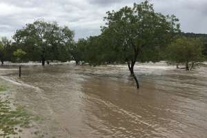 First responders were kept busy with multiple rescue calls after heavy rain flooded the Llano River in Junction.