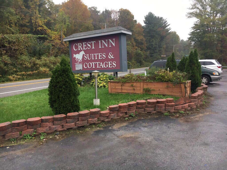 Prestige Limousine in Wilton shares a business address with the Crest Inn Suites & Motel in Wilton, N.Y. Owner Shahed Hussain was not there Monday, the motel's manager said. Photo: Larry Rulison / Times Union