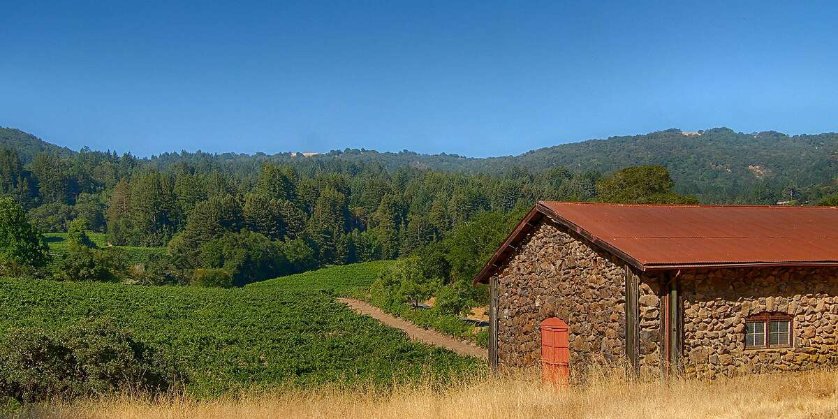 Jack London State Historic Park, which was once the author's Sonoma County estate.