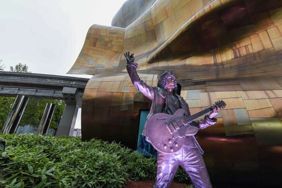 Soundgarden frontman, Chris Cornell, was honored with a new statue near the Seattle Museum of Pop Culture, unveiled on October 7, 2018. Photo: Courtesy Of The Museum Of Pop Culture (Seattle, WA)