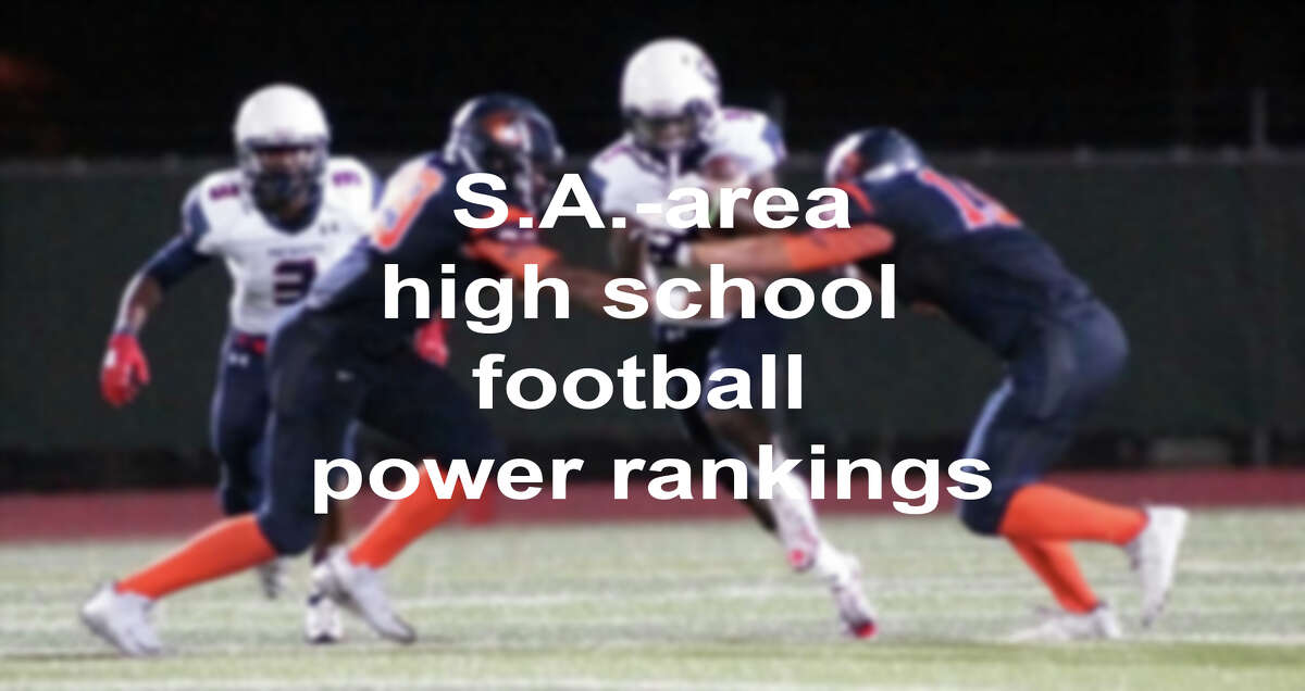 Get ready for Friday night football, because high school football is back. Click through the slideshow above to see the season rankings for San Antonio-area schools.