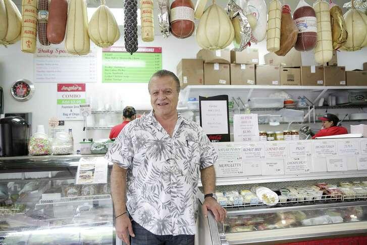 Tony Okde in his Angelo'z restaurant on Thursday, Sept. 27, 2018 in Houston. Okde started as a cashier at the original Antone's.