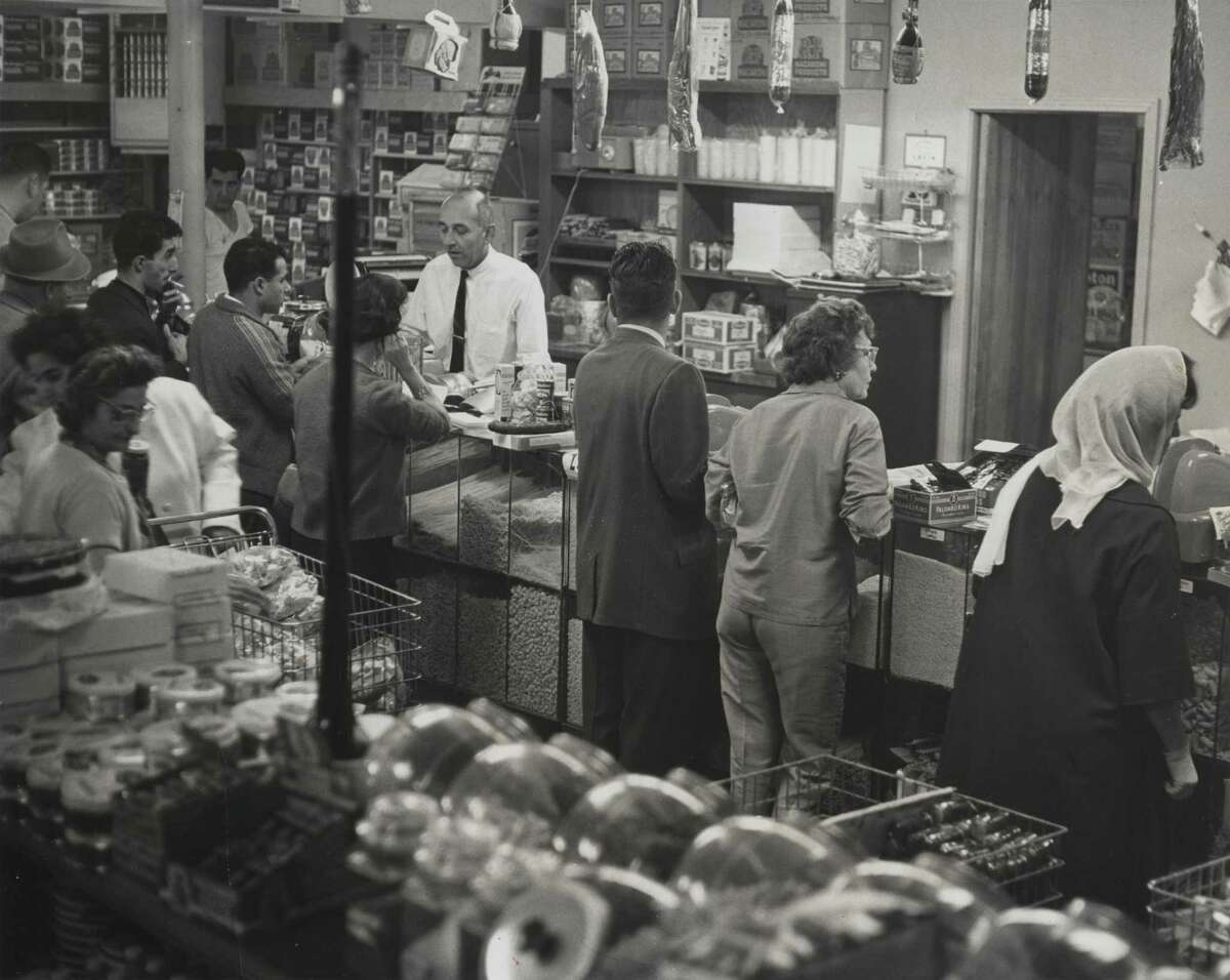 Antone's Import Company, an Italian grocery store and deli in Houston, in 1963.