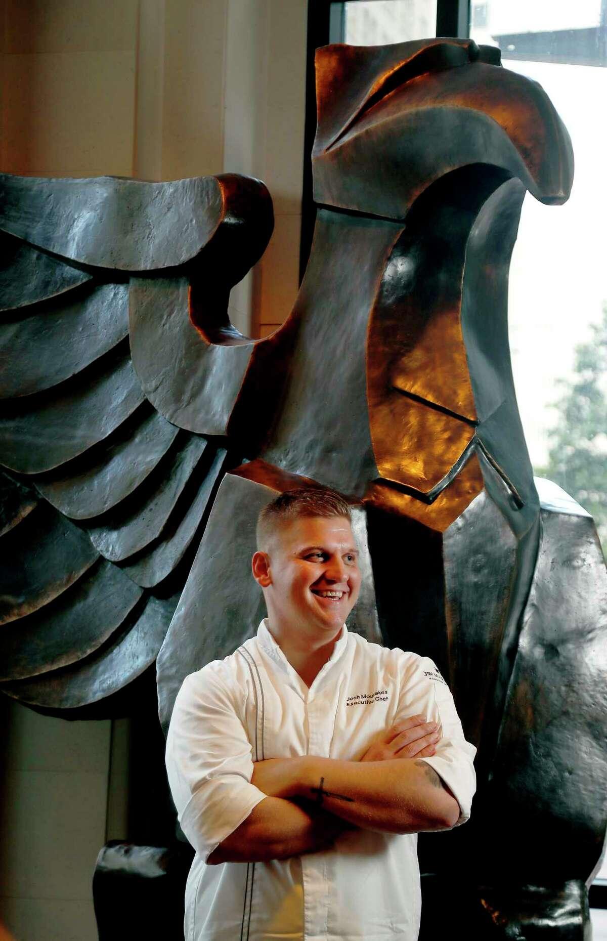 Josh Mouzakes is the new executive chef at Main Kitchen, the JW Marriott Houston Downtown.