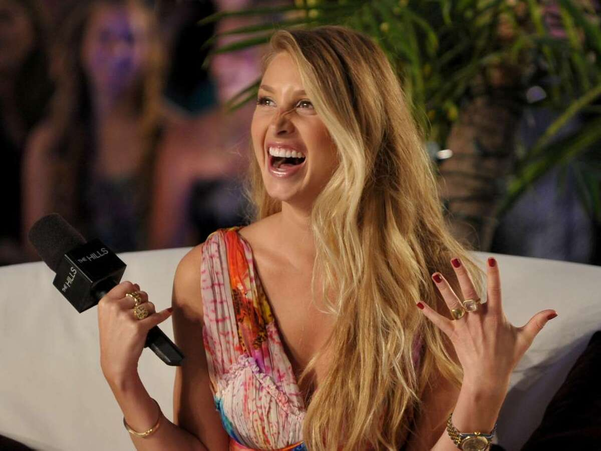HOLLYWOOD - JULY 13: Whitney Port speaks onstage at MTV's
