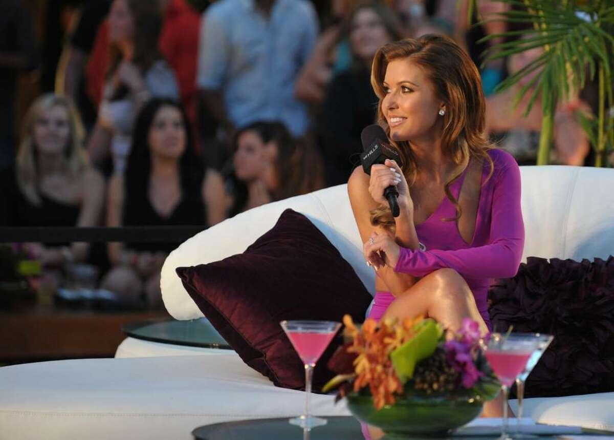 HOLLYWOOD - JULY 13: Audrina Patridge speak onstage at MTV's