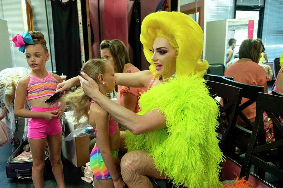 Dancing Queen goes behind the makeup of drag performer Alyssa Edwards and into Justin Johnson's highly competitive Beyond Belief Dance Company in Mesquite, Tx. Photo: Netflix