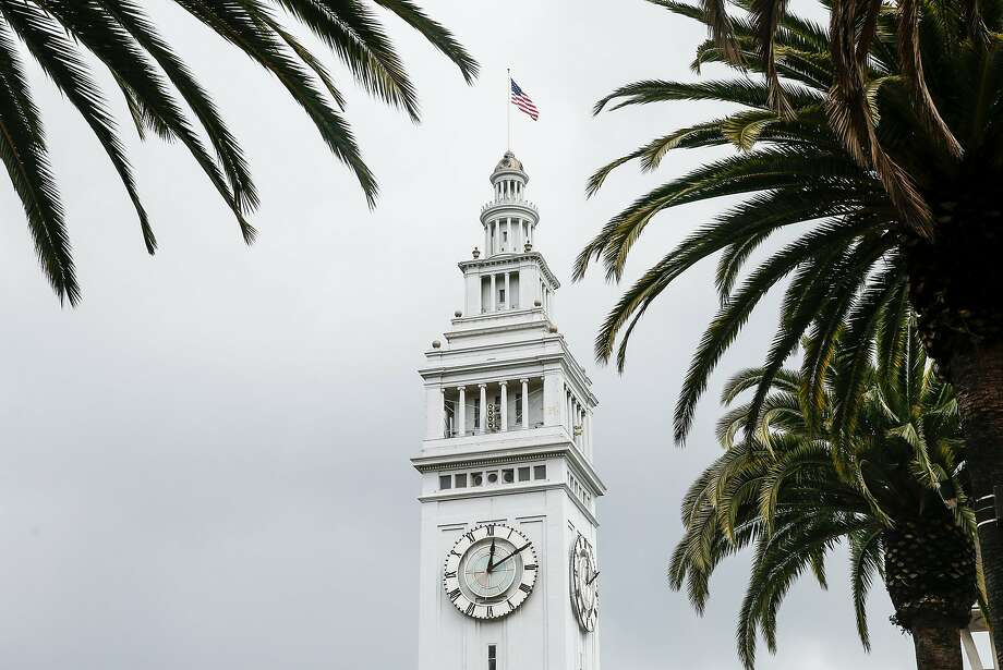 The building is owned by the Port of San Francisco but leased out. It's changing hands for the first time since its big revamp, and the tower may be opened to the public. Photo: Jessica Christian / The Chronicle