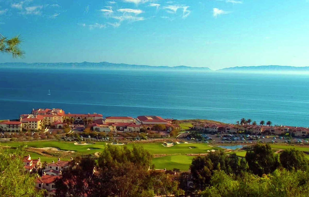Golfing by the sea at Terranea Resort in Rancho Palos Verdes, California.