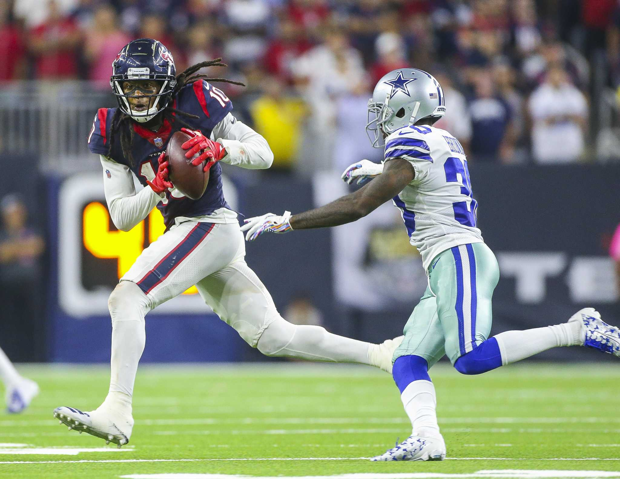 Comparing Madden 20 ratings for Texans, Cowboys players