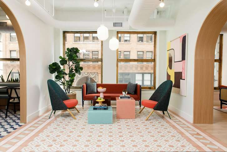 The Wing, a New York women's club started by Audrey Gelman in 2016, boasts 6,000 members among its New York and Washington, D.C., locations. On Oct. 9, it officially opened its 8,000-square-foot S.F. Wing at 115 Sansome St.