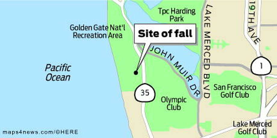 Man In Serious Condition After Fall Off Fort Funston Cliff Sfgate