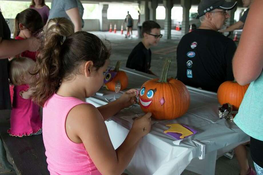 Pumpkin painting is among the highlights at a previous Festifall. (Photo provided)
